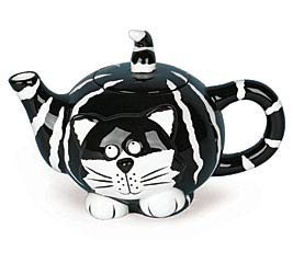 CHESTER CAT DOLOMITE TEAPOT