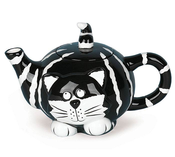 CHESTER CAT DOLOMITE TEAPOT