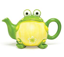 TOBY TOAD CERAMIC TEAPOT