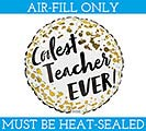 "9""FLAT COOLEST TEACHER AIR FILL ONLY"