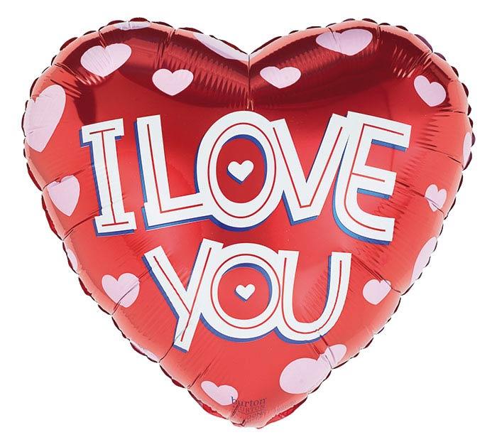 """17""""ILY I LOVE YOU HEARTS"""
