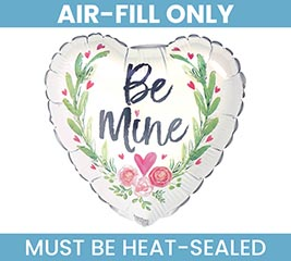 "9"" FLAT VALENTINE BE MIN JUST LOVELY"