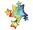 "35""PKG BIRTHDAY STAR CLUSTER"