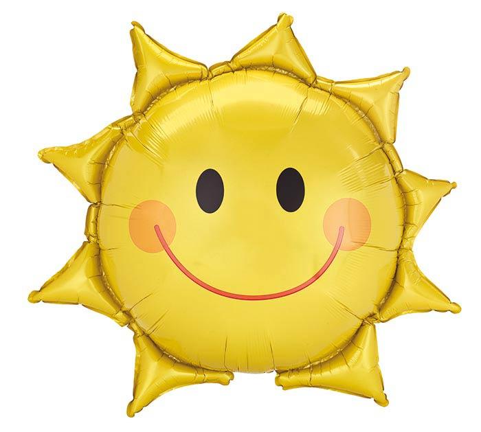 """27""""PKG SMILING SUN"""