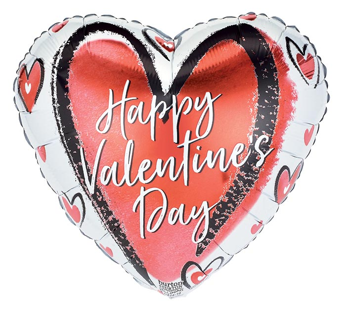 """17"""" LOVE IS ALL VALENTINE'S DAY HEART"""