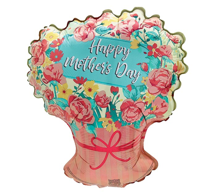 """12""""INFLATED MOTHER'S DAY FLOWER BOUQUET"""