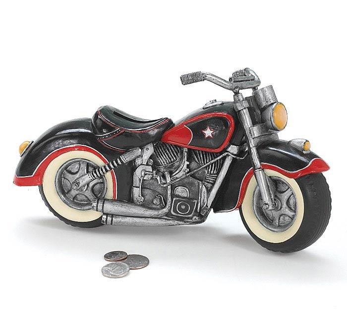 RESIN MOTORCYCLE BANK