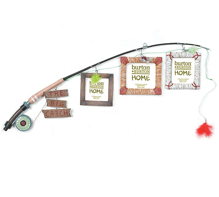 THE BIG CATCH FISHING POLE FRAME