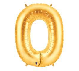 """35""""PKG NUMBER 0 GOLD MEGALOON"""