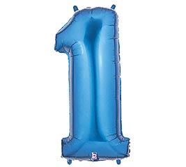 """35""""PKG NUMBER 1 BLUE MEGALOON"""