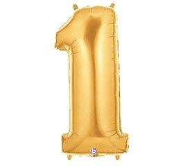 """35""""PKG NUMBER 1 GOLD MEGALOON"""