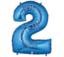 """35""""PKG NUMBER 2 BLUE MEGALOON"""
