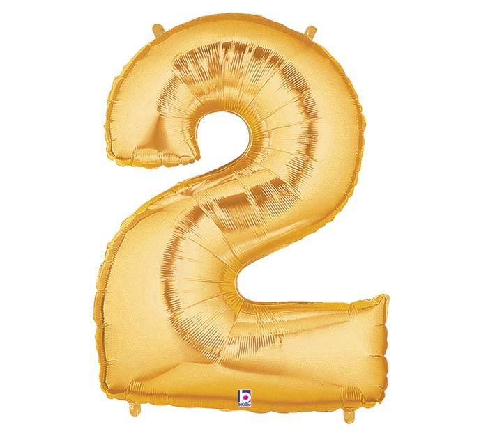 """34""""PKG NUMBER 2 GOLD MEGALOON"""