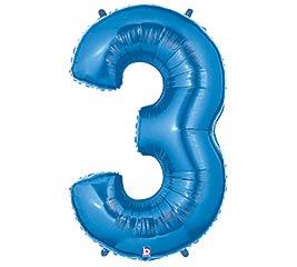 """37""""PKG NUMBER 3 BLUE MEGALOON"""