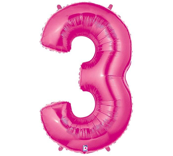 """37""""PKG NUMBER 3 PINK MEGALOON"""