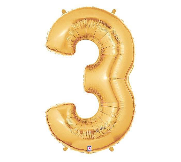 """37""""PKG NUMBER 3 GOLD MEGALOON"""