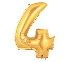 """35""""PKG NUMBER 4 GOLD MEGALOON"""