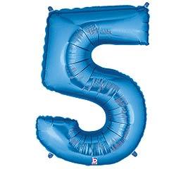 """36""""PKG NUMBER 5 BLUE MEGALOON"""