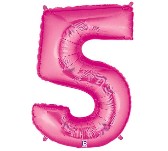 """36""""PKG NUMBER 5 PINK MEGALOON"""