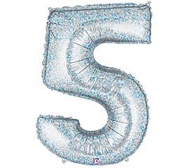 """36"""" PKG NUMBER 5 HOLOGRPAHIC MEGALOON"""