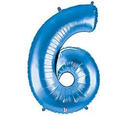 """38""""PKG NUMBER 6 BLUE MEGALOON"""