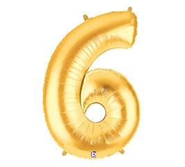 """38""""PKG NUMBER 6 GOLD MEGALOON"""
