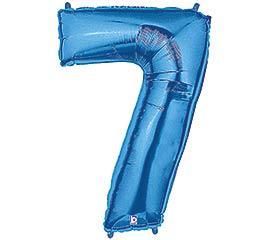 """37""""PKG NUMBER 7 BLUE MEGALOON"""