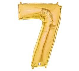 """37""""PKG NUMBER 7 GOLD MEGALOON"""