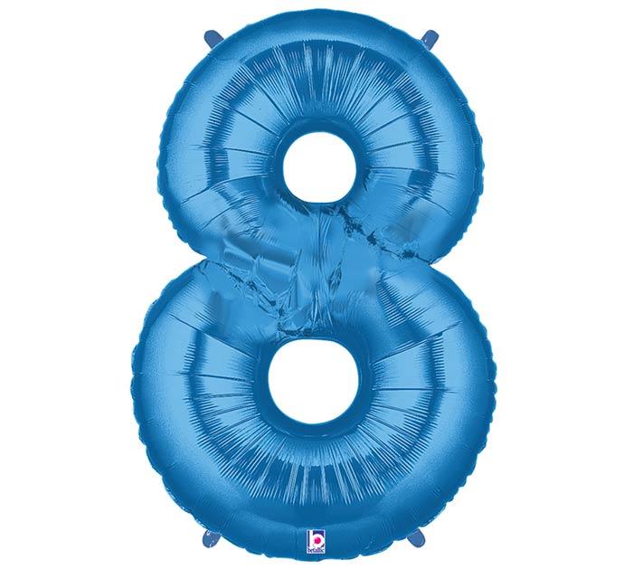 """37""""PKG NUMBER 8 BLUE MEGALOON"""