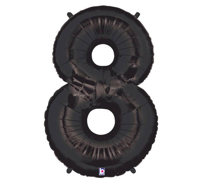 """37"""" NUMBER 8 BLACK MEGALOON"""