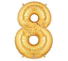 """37""""PKG NUMBER 8 GOLD MEGALOON"""