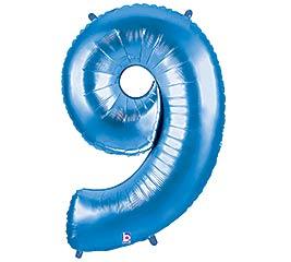 """38"""" PKG NUMBER 9 BLUE MEGALOON"""