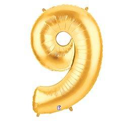 """38""""PKG NUMBER 9 GOLD MEGALOON"""