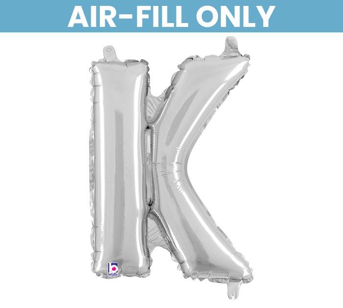 "14"" FLAT SILVER ""K"""