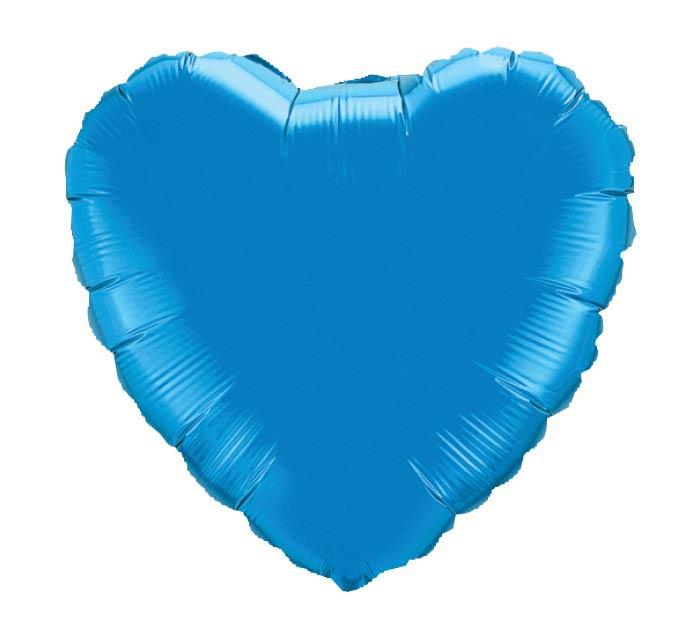 """18"""" SAPPHIRE HEART"""