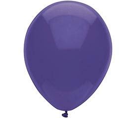 "11"" NEW LOOKS ROYAL PURPLE PK/25"
