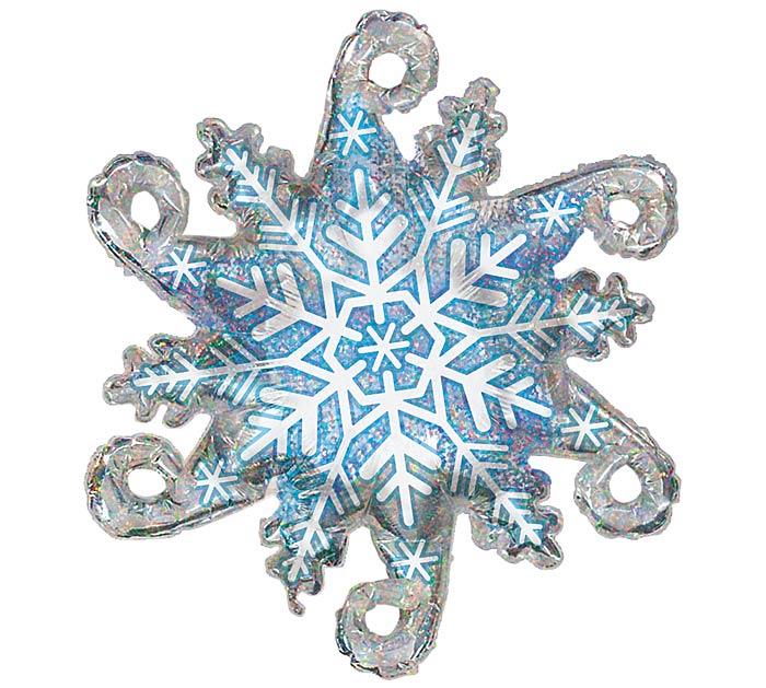 """38"""" CHRISTMAS LINKY SNOWFLAKE"""