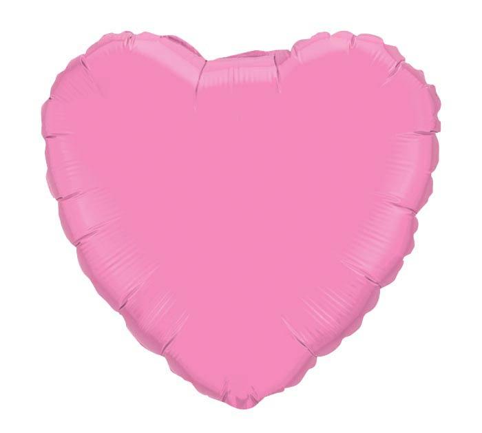 "18"" ROSE HEART SHAPE"