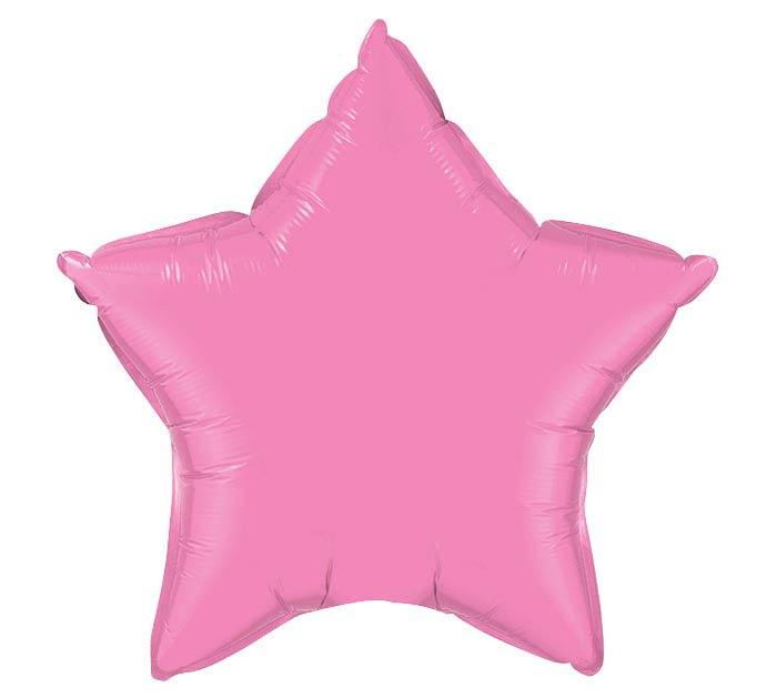 """20"""" ROSE STAR SHAPE"""