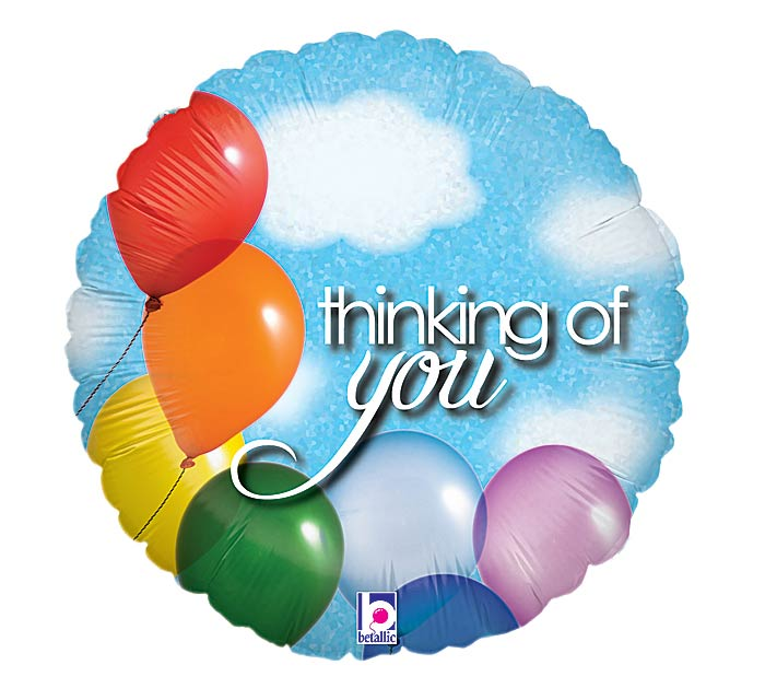 "18""PKG THINKING OF Y"