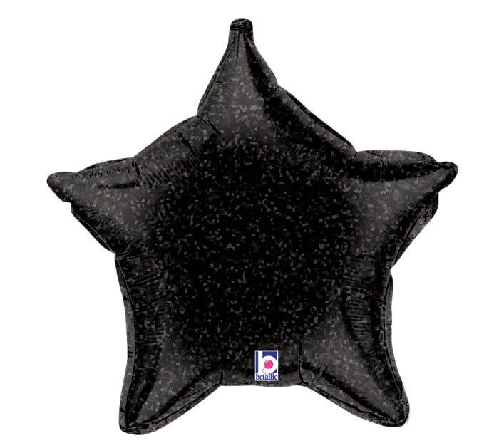 "21"" HOLO BLACK STAR"