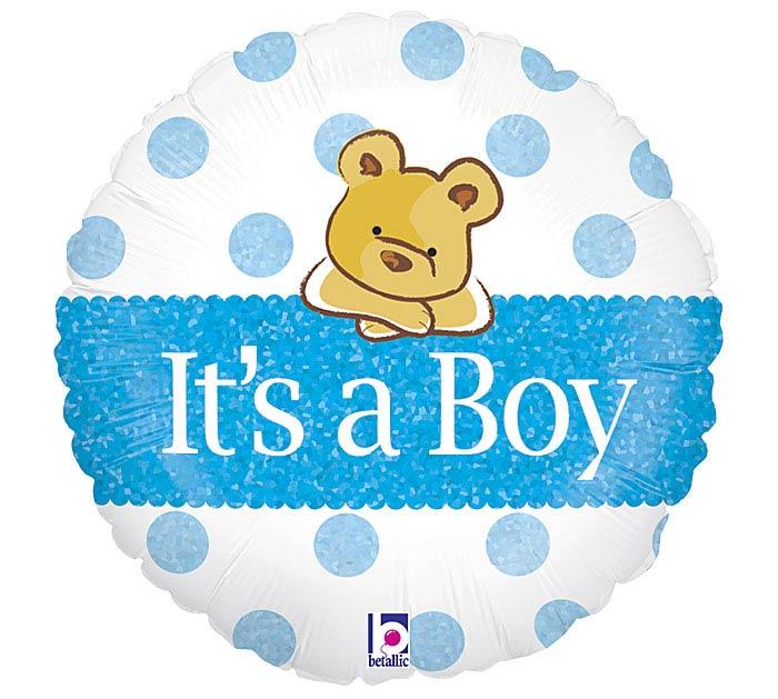 """18""""PKG IAB BABY BOY"""