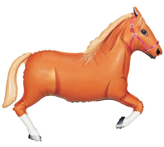 """43"""" TAN HORSE"""
