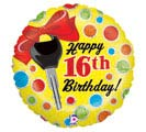 "18""PKG 16TH HBD KEYS"