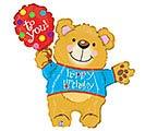 """14""""FLAT HBD BEAR"""