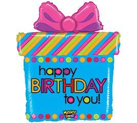 """27"""" PKG MIGHTY BRIGHT HAPPY BIRTHDAY"""