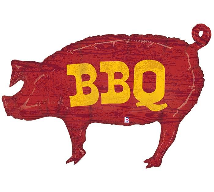 "35""PKG BBQ PIG SHAPE"