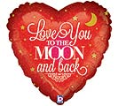 "18""LUV TO THE MOON"