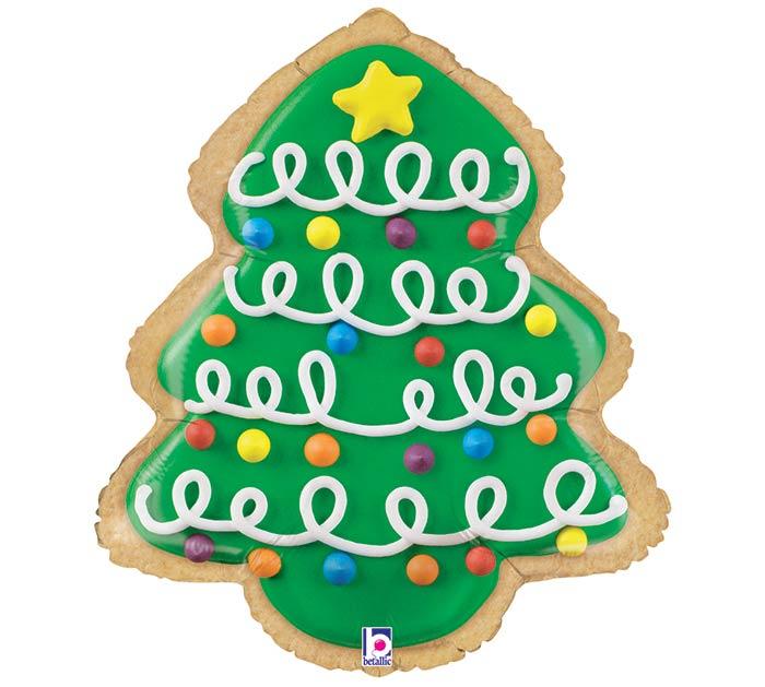 """25"""" CHRISTMAS TREE COOKIE SHAPE"""