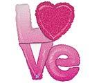 """39""""PKG OMBRE LOVE"""